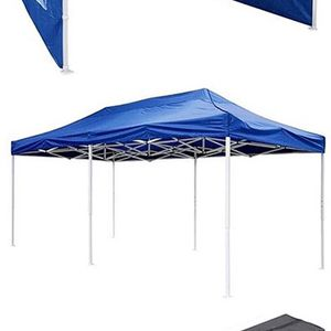 Brand New $210 Heavy-Duty 10x20 Ft Outdoor Ez Pop Up Party Tent Patio Canopy w/Bag & 6 Sidewalls, Blue for Sale in Whittier, CA