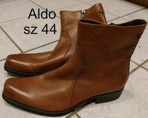 Mens Dress Shoes sz 44 EU Boots Aldo Brown for Sale in Edgewater, FL