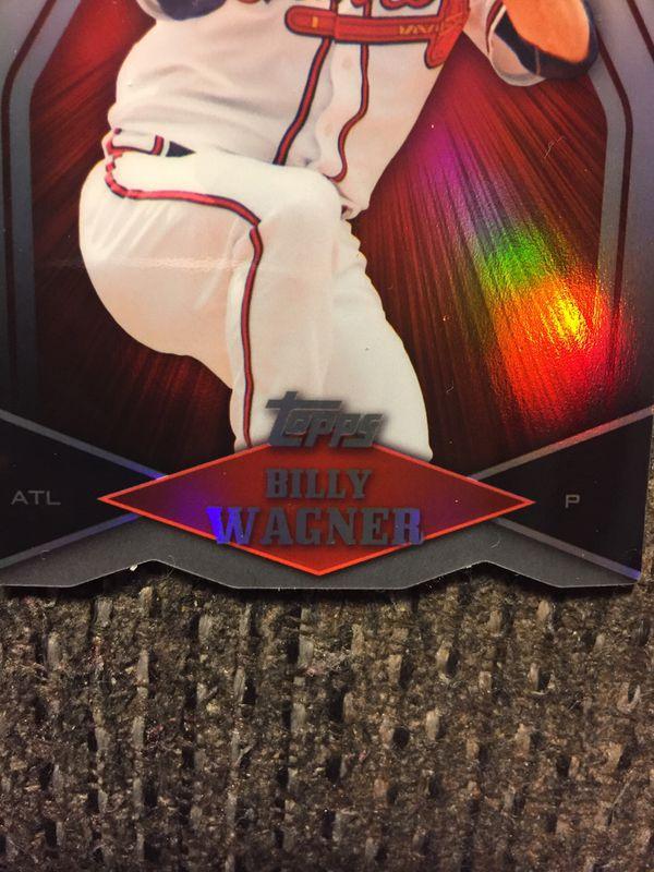 2011 die cut Billy Wagner Atlanta Braves