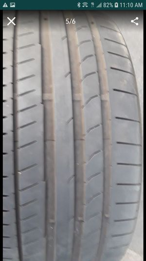 255/35/19 (2) GOOD USED TIRES for Sale in Los Angeles, CA