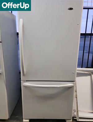 💥💥💥Bottom Freezer Amana Refrigerator Fridge White #1124💥💥💥 for Sale in Ontario, CA