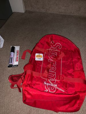 Supreme Backpack (FW18) Red for Sale in Vienna, VA