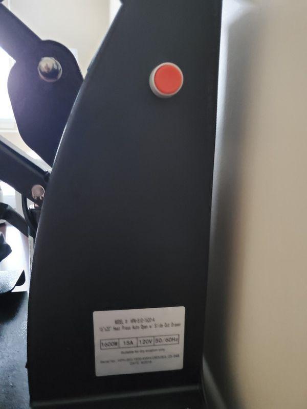 HPN Heat Press 16×20