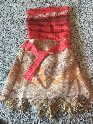 moana costume for girls for Sale in Moraga, CA