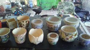 Assorted Plant Potters for Sale in Venice, FL