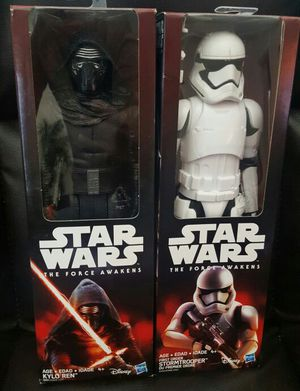 """STAR WARS The Force Awakens 12""""inch KYLO REN / STORMTROOPER Action Figure Doll for Sale in San Diego, CA"""