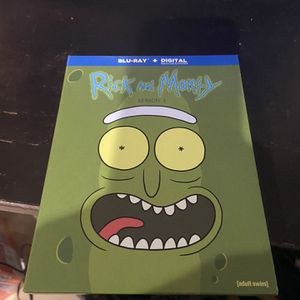 Rick And Morty Season 3 Blu Ray for Sale in Tampa, FL