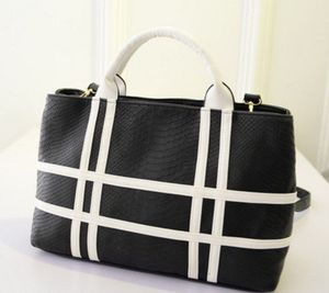 White and black or black and white purse for Sale in Valley Fork, WV