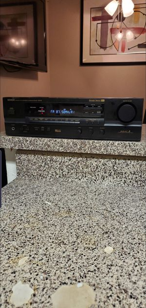 denom precision audio component/av surround receiver. for Sale in Fort Worth, TX