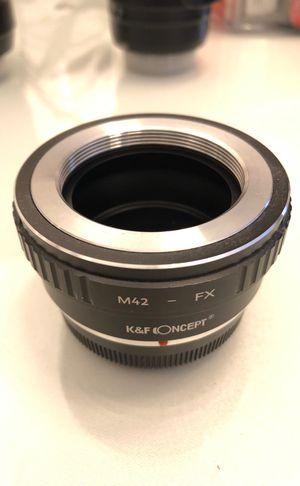 M42 - Fuji X adaptor for Sale in Placentia, CA