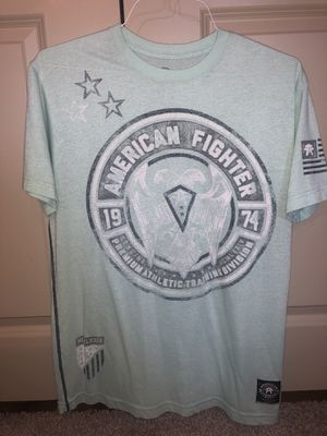 American Fighter tee men size L for Sale in Richardson, TX