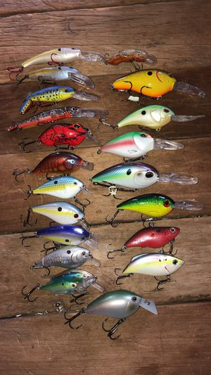 Big Crankbait Fishing Lure Lot for Sale in Martinsville, IN