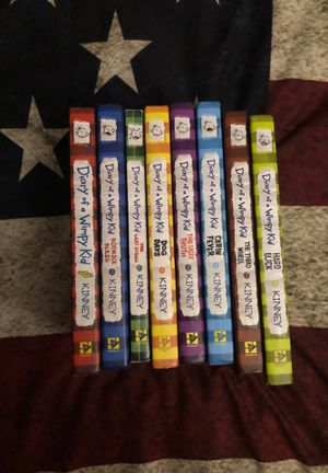 1-8 Dairy of a Wimpy Kid books for Sale in Scott Depot, WV