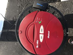 iRobot Roomba Vacuum Cleaner model 4100 works fine with power cable for Sale in Lanham, MD