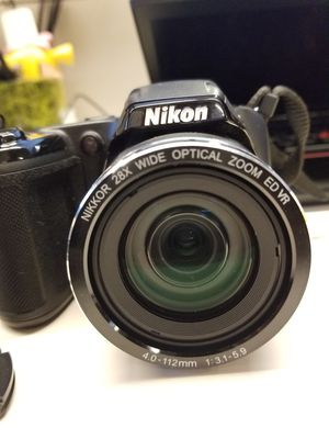 Nikon CoolPix L340 with camera strap and lense cover for Sale in Chicago, IL