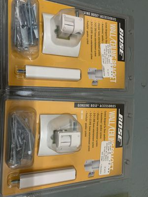 Bose Speaker Mount/Bracket Blk or White for Sale in Temple City, CA