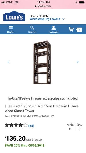 New shelve for Sale in Jackson, OH