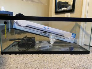 20 gallon fish tank for Sale in Cypress, TX