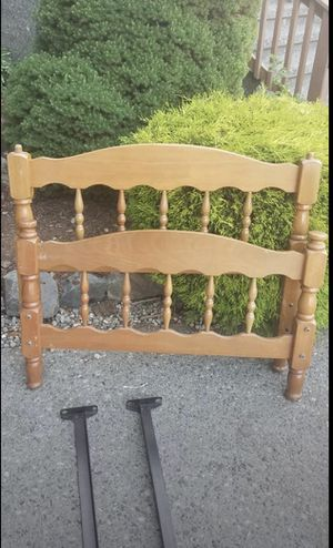 Nice Solid Wood Twin Bed Frame for Sale in Monroe, WA