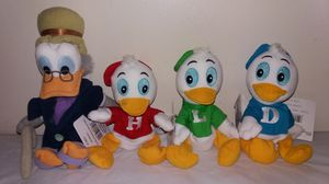 Rare New in tags Disney The Three Caballeros complete set Beanie Babies for Sale in Downers Grove, IL