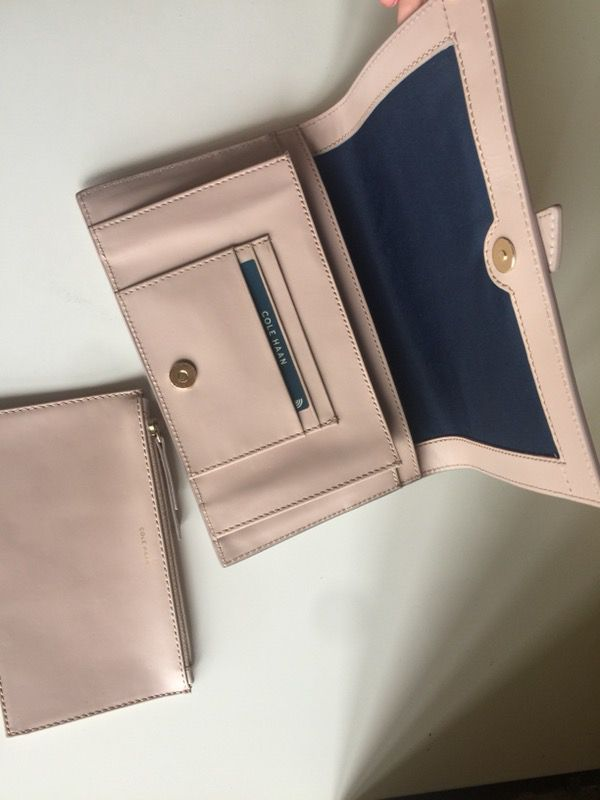 e6ea84375a5 NWT Cole Haan Vestry Clutch Canyon Rose (Blush) for Sale in Kirkland ...