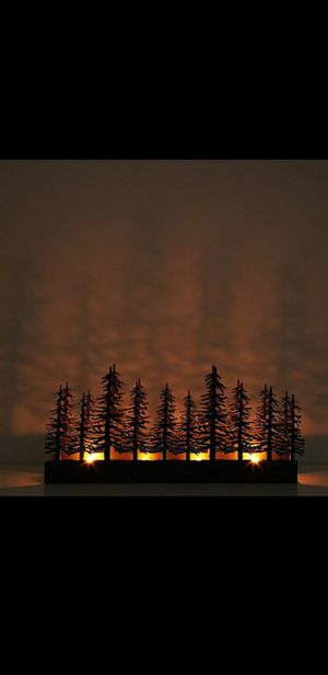 Gold Nordic Lights Candle Holder Display for Sale in San Diego, CA