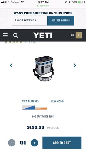 Yeti Flip Cooler for Sale in Lynchburg, VA
