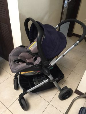 Baby stroller and car seat (travel system) for Sale in West Palm Beach, FL