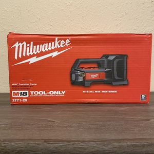M18 TRANSFER PUMP ( NO BATTERY NO CHARGER ) for Sale in Dallas, TX