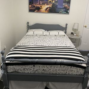 Full Size Bed With Mattress for Sale in Duluth, GA
