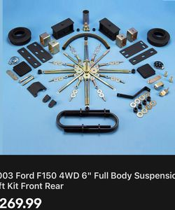 2003 F-150 4x4 Body Lift Kit Brand New Box for Sale in Pompano Beach,  FL