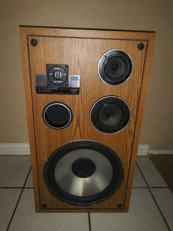 Dinamic audio pro poly series 1901. (Bocina)