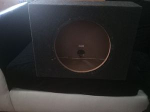 Box subwoofer 12 inches for Sale in Hummelstown, PA