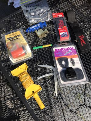 Ranger boat rod saver and other fishing items for Sale in Oswego, IL