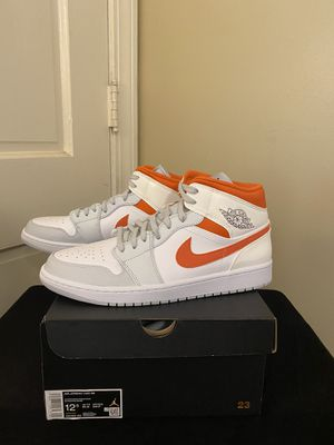 Jordan 1 mid starfish new size 12,12.5 for Sale in High Point, NC