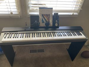 Casio PX-130 Keyboard With Keyboard Stand, Music Stand, Book, Pedal, Power Cord and Computer Cable for Sale in Spring Valley, CA