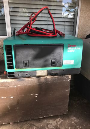 Onan microlite 2800 generator rv for Sale in San Diego, CA