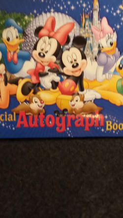 Official Disney Autograph Book for Sale in Daytona Beach,  FL