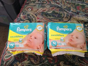 Newborn pampers for Sale in Raleigh, NC