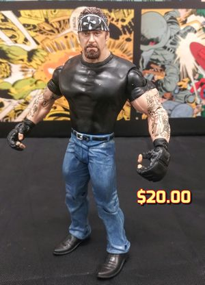 WWE Jakks Classic Superstars Faces Of The Undertaker American Badass Action Figure for Sale in Oakland, CA