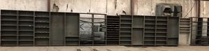 Metal parts shelves $250 takes them all. for Sale in Newport, AR