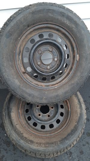 Winter SRX (brand) Studded Snow Tires. 215 60 14 for Sale in Beaverton, OR