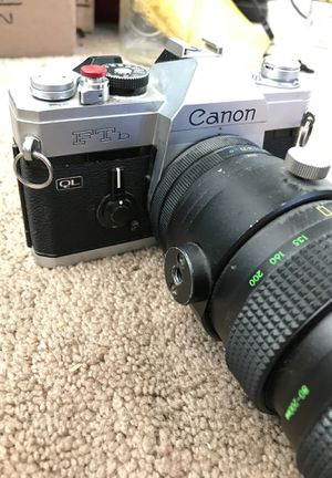 Vintage Canon FTb QL Film Camera for Sale in Gilbert, AZ