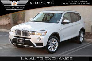 2017 BMW X3 for Sale in Montebello, CA
