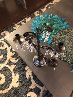 Candelabra with crystals for Sale in Smyrna, GA