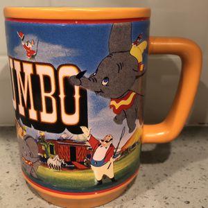 Large Disney Store Orange Dumbo Mug for Sale in Phoenix, AZ