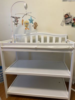 White changing table for Sale in Los Angeles, CA