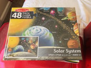 Puzzle games - solar system for Sale in Redwood City, CA