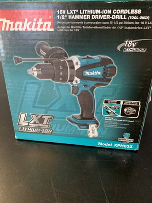 "1/2"" hammer drill for Sale in Newport News, VA"