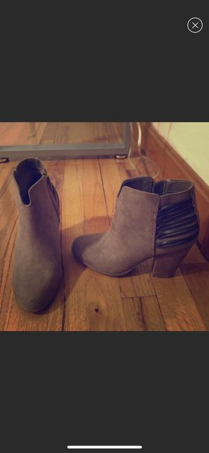 Tan ankle boots - size 6 for Sale in Medford, MA